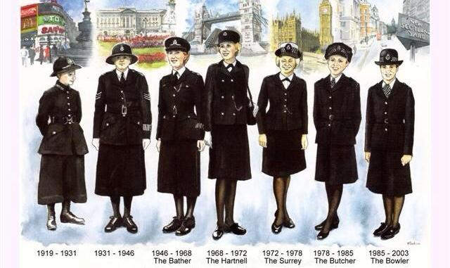 Women Police Officers of Metropolitan Police Service